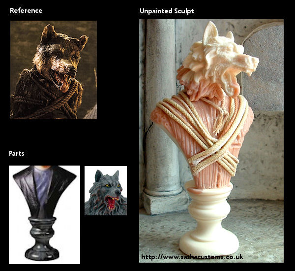 Wolf Fur Coat >> Sasha's Customs: Game of Thrones - Halloween Special - p5 ...