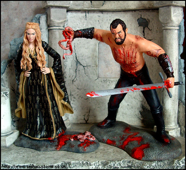 sculpt cersei and the mountain melisandre tyrion and the mountainGame Of Thrones The Mountain And Cersei