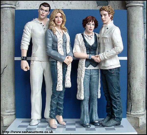 The Cullens sasha's customs - hungry-in-the-cafeteria cullens