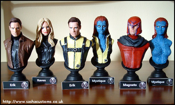 X-Men First Class - The X Men First Class Magneto And Mystique